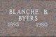 "Profile photo:  Bertha Blanche ""Blanche"" <I>McDowell</I> Byers"