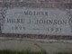 """Hilke Jacobs """"Helen"""" <I>Classen</I> Johnson"""
