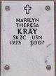 """Profile photo:  Marilyn Theresa """"Bunny"""" Kray"""