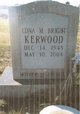 Profile photo:  Edna Mae <I>Bright</I> Kerwood