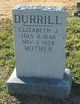 Profile photo:  Elizabeth J Durrill