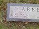 Profile photo:  William C. Abbey