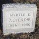 Myrtle Estelle <I>Bromwell</I> Altenow