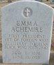 Profile photo:  Emma Achemire