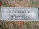 Kate <I>Aitken</I> Leslie