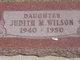 "Judith Marie ""Judy"" Wilson"