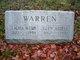 Profile photo:  Laura <I>Webb</I> Warren