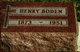 Henry Boden