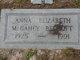 Anna Elizabeth <I>McGahey</I> Becroft