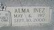 Alma <I>Inez</I> Bennett
