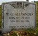 "Profile photo:  William Joseph Gipson ""Gip"" Alexander"