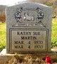 Kathy Sue Martin