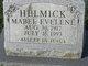 Profile photo:  Mabel Evelene Helmick
