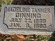 Mrs Madeline Chaffin <I>Tanner</I> Dinning