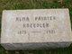 Profile photo:  Alma <I>Painter</I> Kneedler