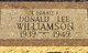 Donald Lee Oswalt Williamson