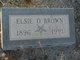 Elsie Delilah <I>Adams</I> Brown