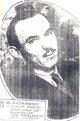 """Profile photo:  Herbert Vestner """"H.V."""" Akerberg"""