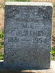 Mary Katherine <I>Dewitt</I> Courtney