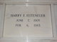 "Profile photo:  Harry Edmund ""Dub"" Euteneuer"