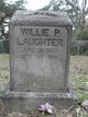 Profile photo:  Willie P. Laughter