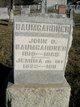Jemima <I>Beighley</I> Baumgardner
