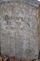 Pvt DeForest Jackson