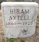 Profile photo:  Hiram Axtell