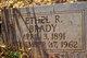 Ethel R Brady