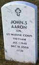 John Steven Aaron