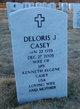 Profile photo:  Deloris J. Casey