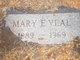 Mary Elizabeth <I>Thomas</I> Veal