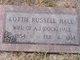 Lottie <I>Russell</I> Hale