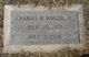 """Charles William """"Charlie"""" Barger Jr."""