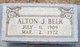 Profile photo:  Alton J. Belk