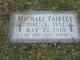 Profile photo:  Michael Fairley