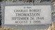 "Charles Robert ""Bubba"" Thomasson"