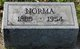Profile photo:  Norma <I>Knight</I> Adams