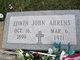 Profile photo:  Edwin John Ahrens, Jr.