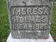 """Theresa B """"Tressie"""" <I>Boyce</I> Holmes"""