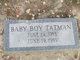 Profile photo:  Baby Boy Tatman