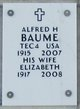 Profile photo:  Alfred H Baume