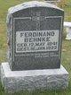 Profile photo:  Ferdinand Wilhelm Behnke