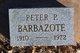 """Profile photo:  Peter Pearl """"Pete"""" Barbazote"""