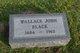 Profile photo:  Wallace John Black