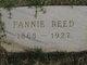 Fannie Alberta <I>Townley</I> Reed