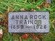 Anna <I>Rock</I> Trainor