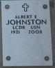 Profile photo:  Albert E Johnston
