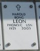 Profile photo:  Harold Bong Leon