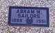 Profile photo:  Abram M Sailors